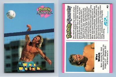 Wes Welch #42 Beach Sports 1992 Trading Card