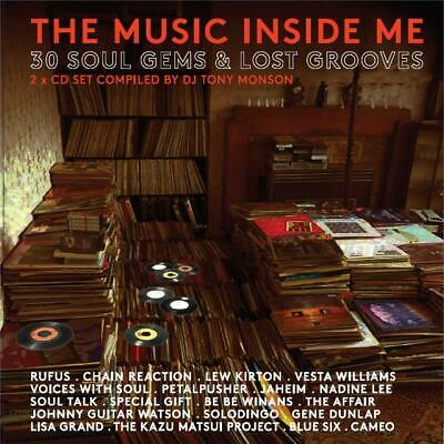 V/A The Music Inside Me - 30 Soul Gems & Lost Grooves 2 CD ALBUM NEW (23RD AUG)