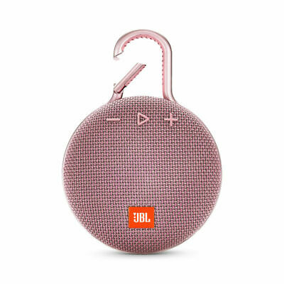 JBL CLIP 3 jblclip3pink Portable Waterproof Bluetooth Speaker in Pink
