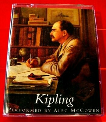 Rudyard Kipling 2-Tape Audio Book Alec McCowen Biography/Celebration