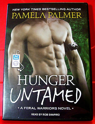 Pamela Palmer Hunger Untamed Feral Warriors #5 MP3-CD UNABR.Audio Rob Shapiro