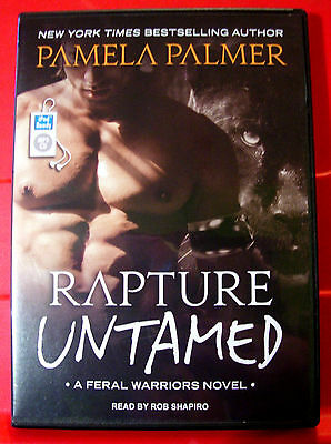 Pamela Palmer Rapture Untamed Feral Warriors #4 MP3-CD UNABR.Audio Rob Shapiro