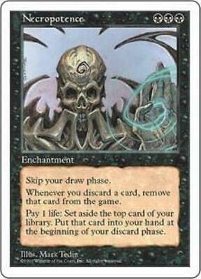 1x Necropotence • Fifth Edition • MP Moderately Played • MTG