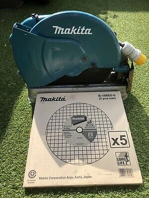 Makita Chop Saw 110v With 5 Blades In Box