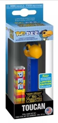 Funko Pop! Ad Icons POP PEZ: TOUCAN SDCC Shared 2019 Exclusive Limited Edition
