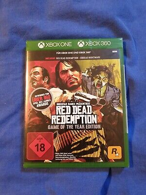 Red Dead Redemption -- GotYEdition (Microsoft Xbox One + Xbox 360, 2015, DVD-…