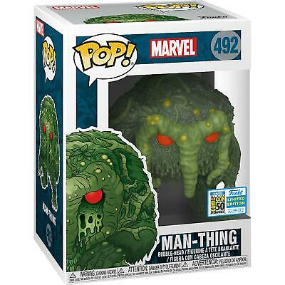 Man-Thing SDCC 2019 US Exclusive Pop Marvel Vinyl RS -FUN40799-FUNKO