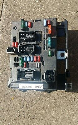 9657608880 206 Partner Berlingo Fusebox Ecu Peugeot 307 Citroen Siemens