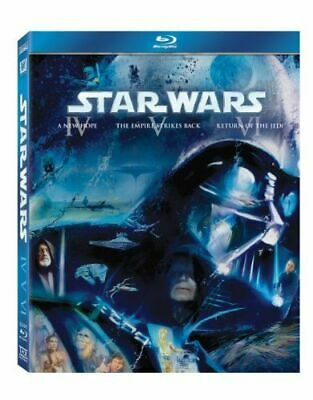 Star Wars Trilogy - A New Hope Iv / The Empire Strikes Back V / [Uk] New Bluray