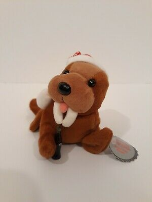 Coca Cola Seal Bean Bag Plush #0141