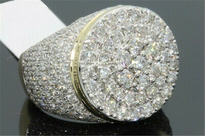 Women 18K Yellow Gold Plated White Topaz Ring Wedding Jewelry Party Size 6-10