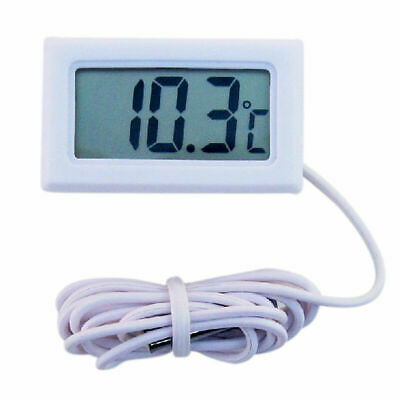 Aquarium Fish Tank LCD Digital For Fridge Freezer Thermometer Temperature G5L0