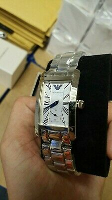 Used Emporio Armani Ar0146 Stainless Steel Classic Ladies Watch