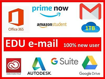 ✔️GET NEW CUSTOM EDU EMAIL USING YOUR INFORMATION✔️Office 365  and MORE