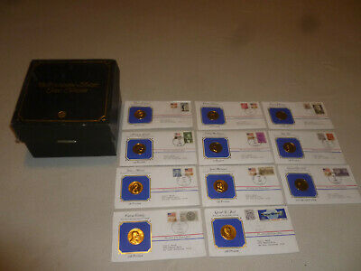The Presidential Medals Cover Collection 1983 Lincoln Jefferson Washington Set >