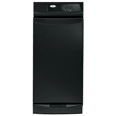 Whirlpool 15-in Black-on-black Undercounter Trash Compactor