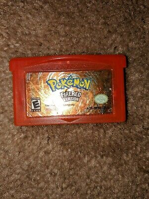 Pokemon: FireRed Version (Nintendo Game Boy Advance, 2006) - Used . AUTHENTIC