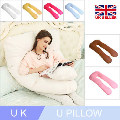9Ft U Pillow Body/Bolster Support Maternity Pregnancy Support Pillow