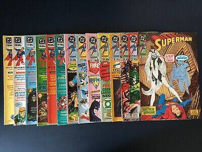 DC Superman 1989 UK comics - complete collection! (issues 16-29)