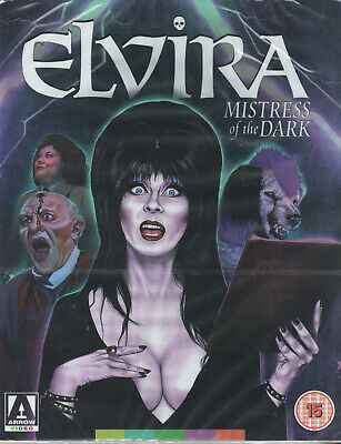 ELVIRA: MISTRESS OF THE DARK - Blu Ray - Limited Edition in Slipcase !