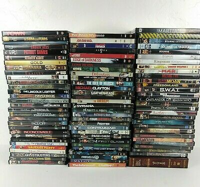 DVD Movies U PICK UR LOT 200 Plus Movie Titles 60 Percent Off on 4 or More LOT 1