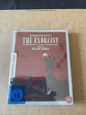 The Exorcist Steelbook Mondo Art Region Free Blu Ray NEW & SEALED Rare Import