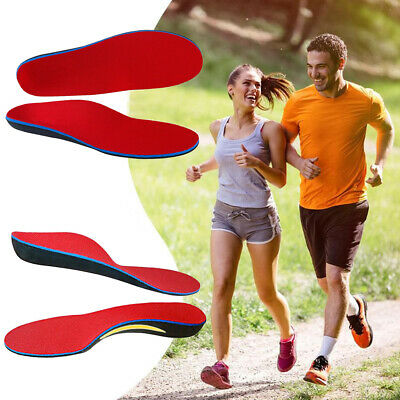 Orthotic Arch Support Shoe Insoles Flat Feet Foot Insert Sport Pads Pain Relief