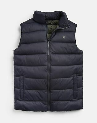 Joules Mens 206937 Lightweight Layering Gilet in MARINE NAVY
