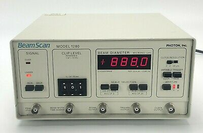Photon Beam Scan Model 1280 -- Beamscan 1280-Xys  **Works**