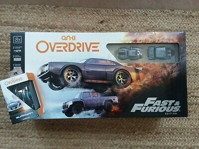 Anki~Overdrive~Fast & Furious 2018 Edition~With Guardian Police Supercar~NEW