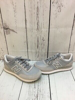 NEW BALANCE 501 Womens Sneakers Leopard Print Satin Gray