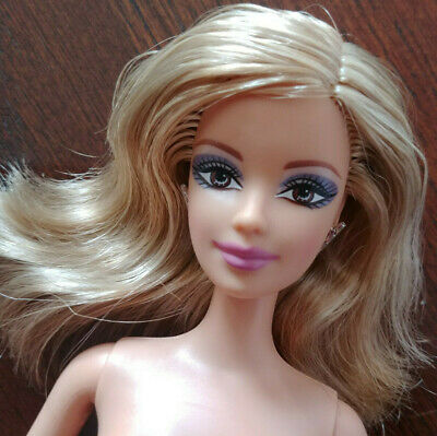 NEW 2017 Barbie Fashionista Doll  ~ Blonde Hair Blue Eyes ~ NUDE