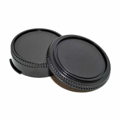 2pcs Body Cover Lens Rear Cap For CANON FD Camera Protect and Accessor Z5H6 G8P0
