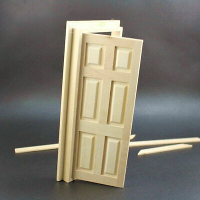 1//12 Wooden Doll house Miniature Books 6 pcs colorful D3Y1
