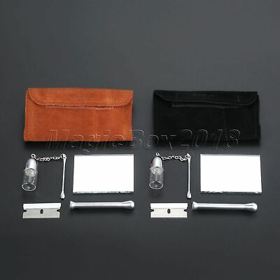 1 Set Smoking Tobacco Herb Pouch Kit Leather Packet SET021 Smoking Accessories