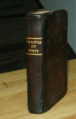 Antique c1725 Catholic PRACTICE OF PIETY Missal Bible related book