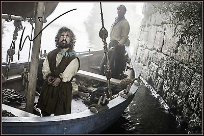 4x6 SIGNED AUTOGRAPH PHOTO REPRINT OFPeter Dinklage Game of Thrones #47