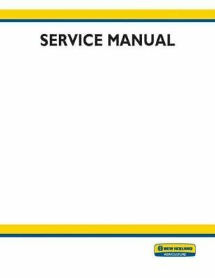 NEW HOLLAND WORKMASTER 35, 40 Tractor Service Repair Manual ... on