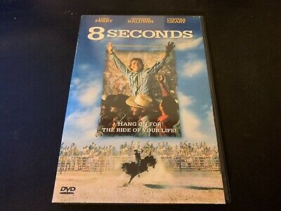 8 Seconds DVD Luke Perry RARE OOP USA REGION ONE