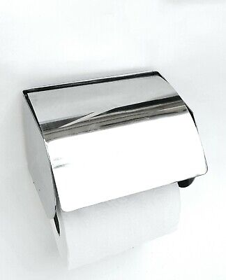 US Stainless Steel Toilet Paper Roll Holder Tissue Bathroom Rack Wall Mounted
