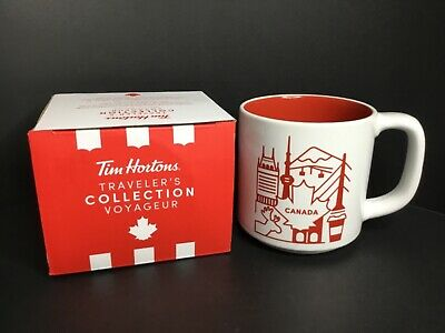 Tim Hortons 2019 Canada Travellers Collection Series 2 Coffee Mug Cup