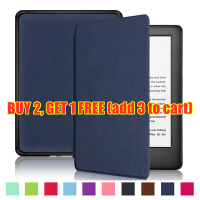 LEATHER SMART CASE Cover For Amazon Kindle Paperwhite 2 3 4