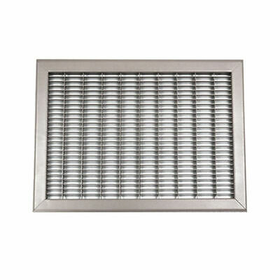 36X28 White Vent Cover (Steel) – Shoemaker 1610 Series