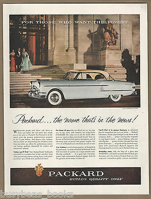 1954 Packard Panther Daytona Convertible Coupe Factory Photo Ref. #62105