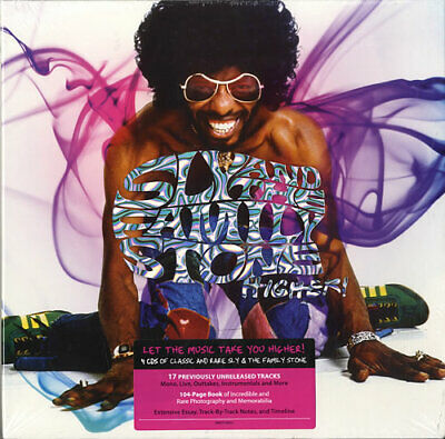 Sly & The Family Stone 4-CD album Higher! - Sealed UK 88697536652 EPIC Sealed