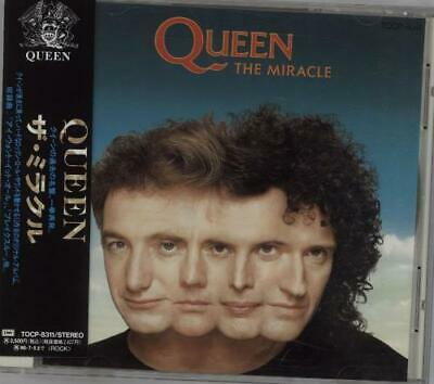 Queen CD album (CDLP) The Miracle Japanese TOCP-8311 EMI 1994