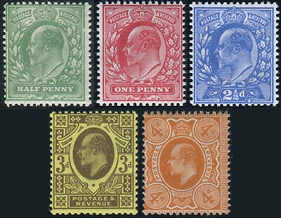 1911 Harrison Sg 267-Sg 278 Perf 14 Lightly Mounted Mint Single Stamps