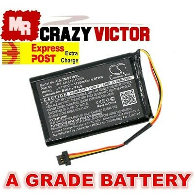 Replacement Battery for TomTom 4FA50 Go 510 520 AHA11110004 P5 P6 GPS Navigation