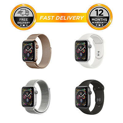 Apple Watch Series 4 - 40mm 44mm GPS Only - Aluminum Case - All Colours