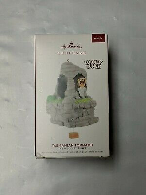 Hallmark Keepsake 2019 Looney Tunes Taz Tasmanian Tornado Ornament With Motion
